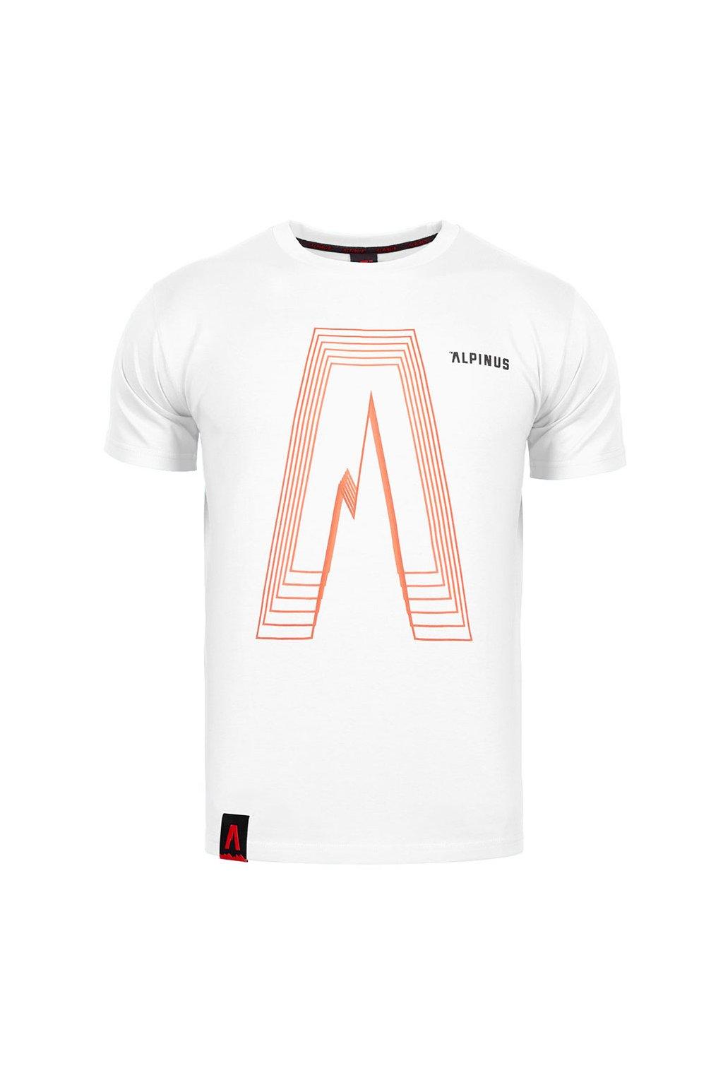 Pánske tričko Alpinus Altai biele ALP20TC0035