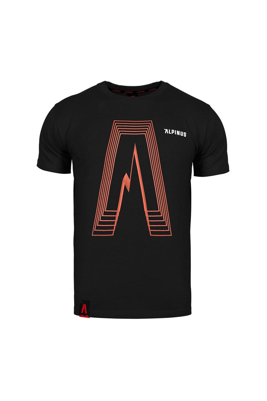 Pánske tričko Alpinus Altai čierne ALP20TC0035