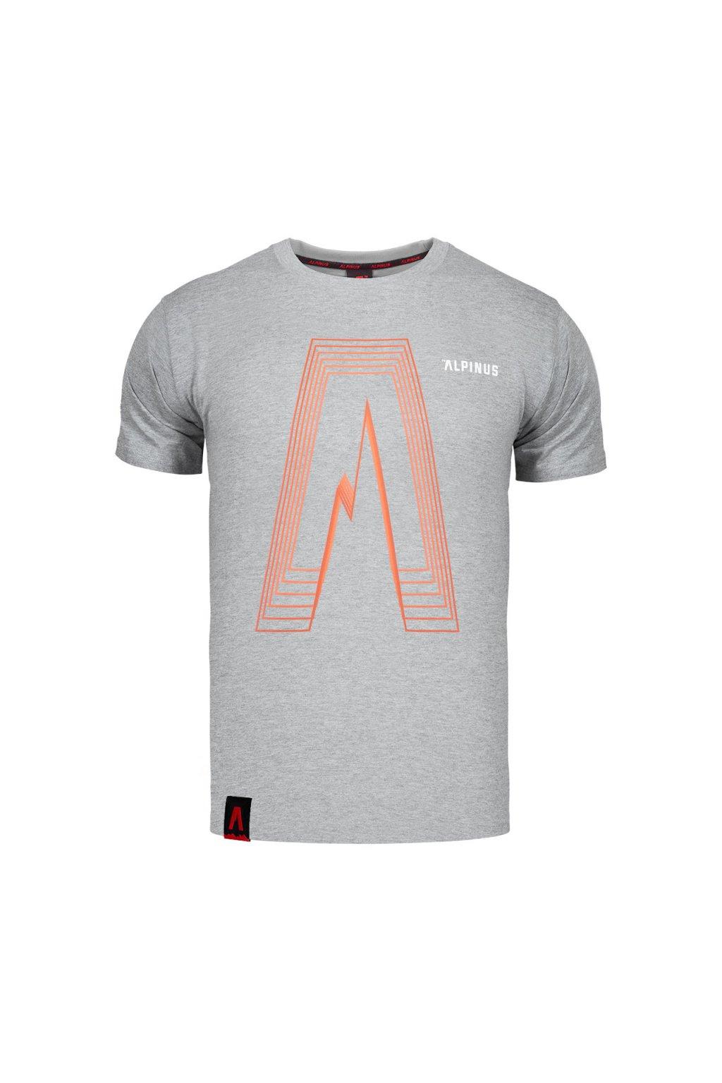 Pánske tričko Alpinus Altai sivé ALP20TC0035