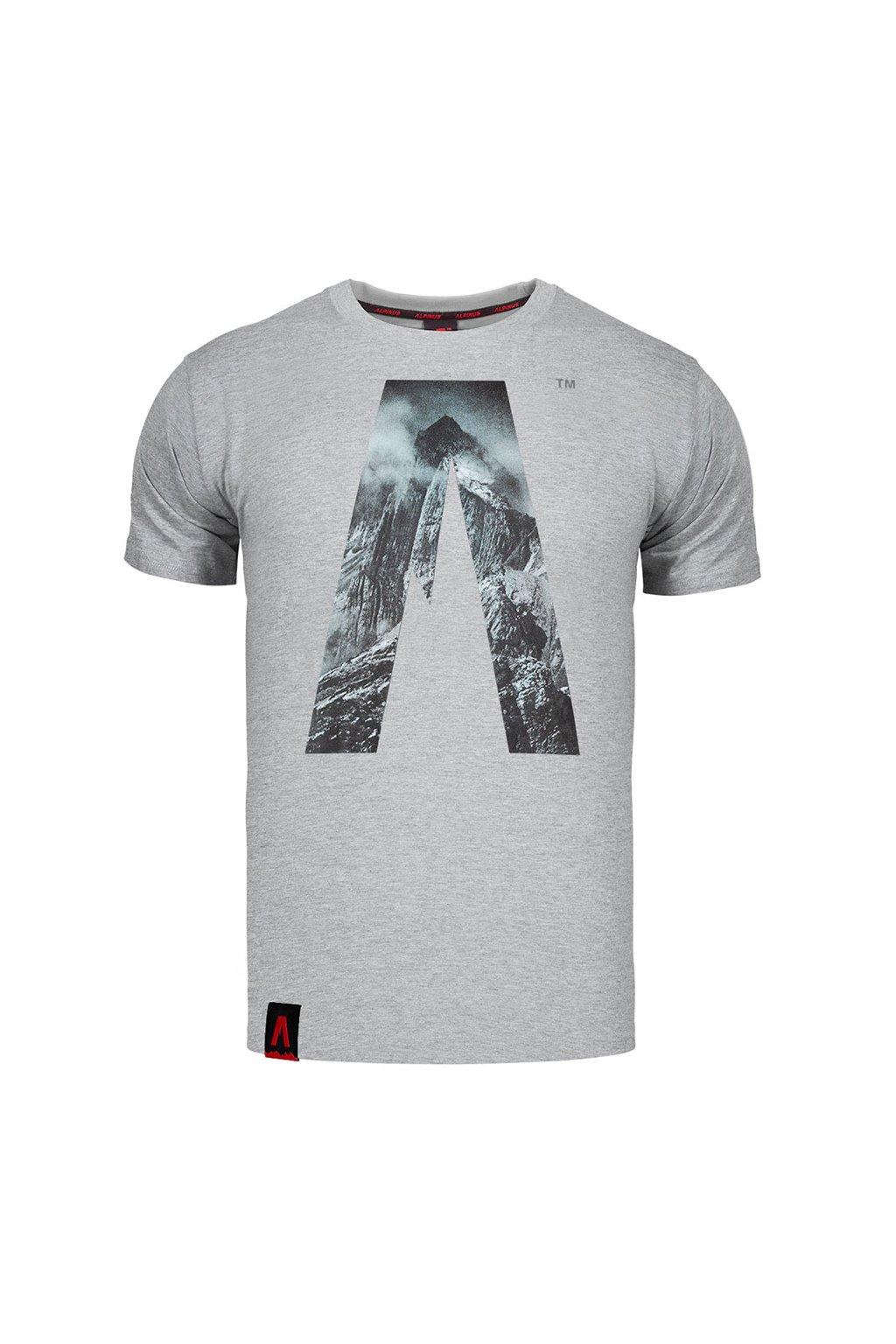 Pánske tričko Alpinus Peak sivé ALP20TC0039