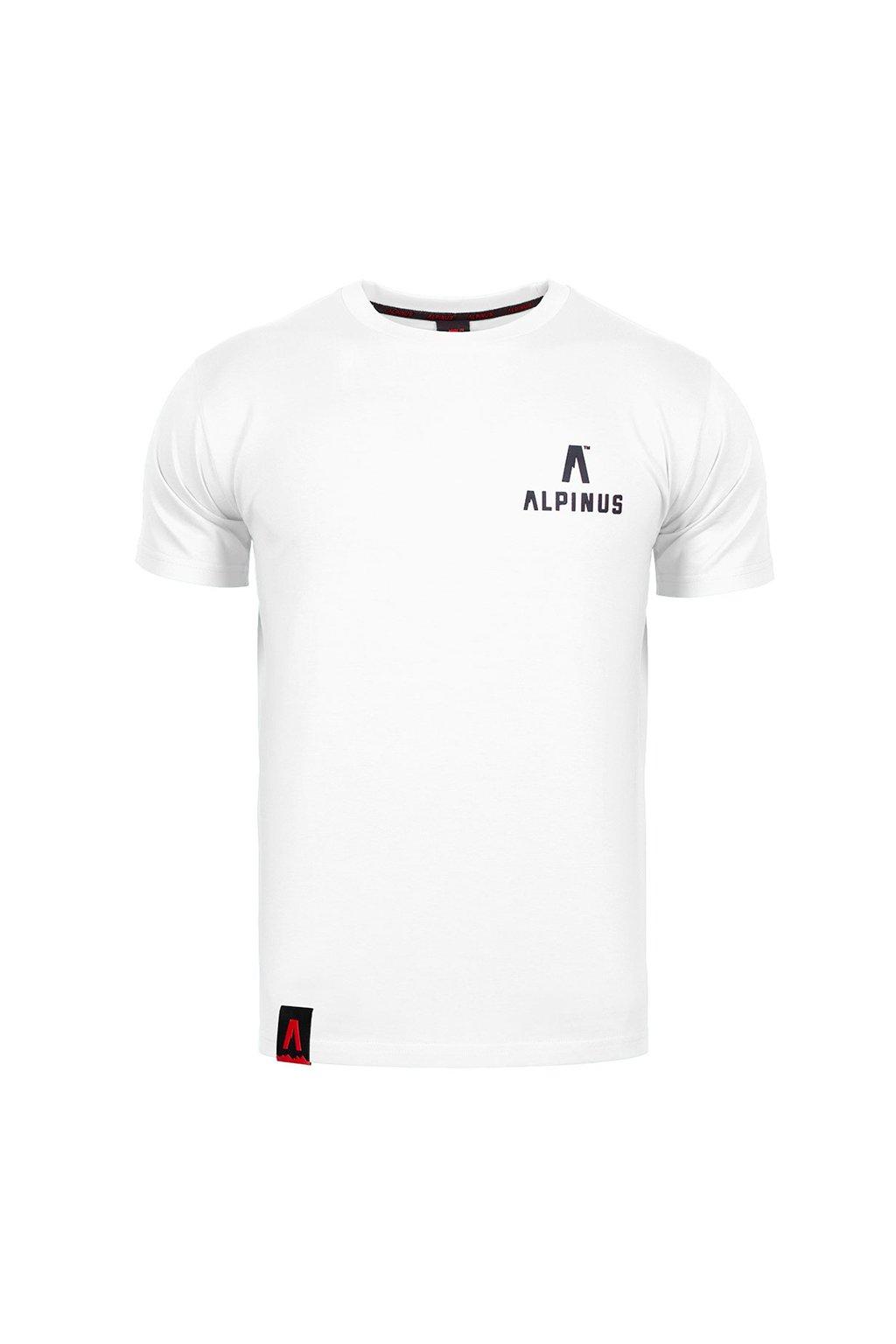 Pánske tričko Alpinus Wycheproof biele ALP20TC0045