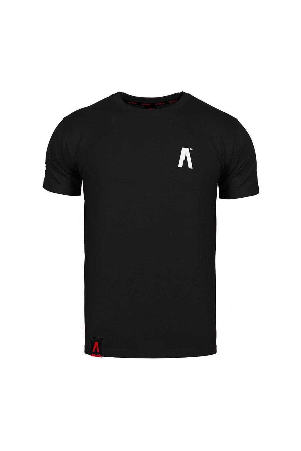 Pánske tričko Alpinus A' čierne ALP20TC0002_ADD