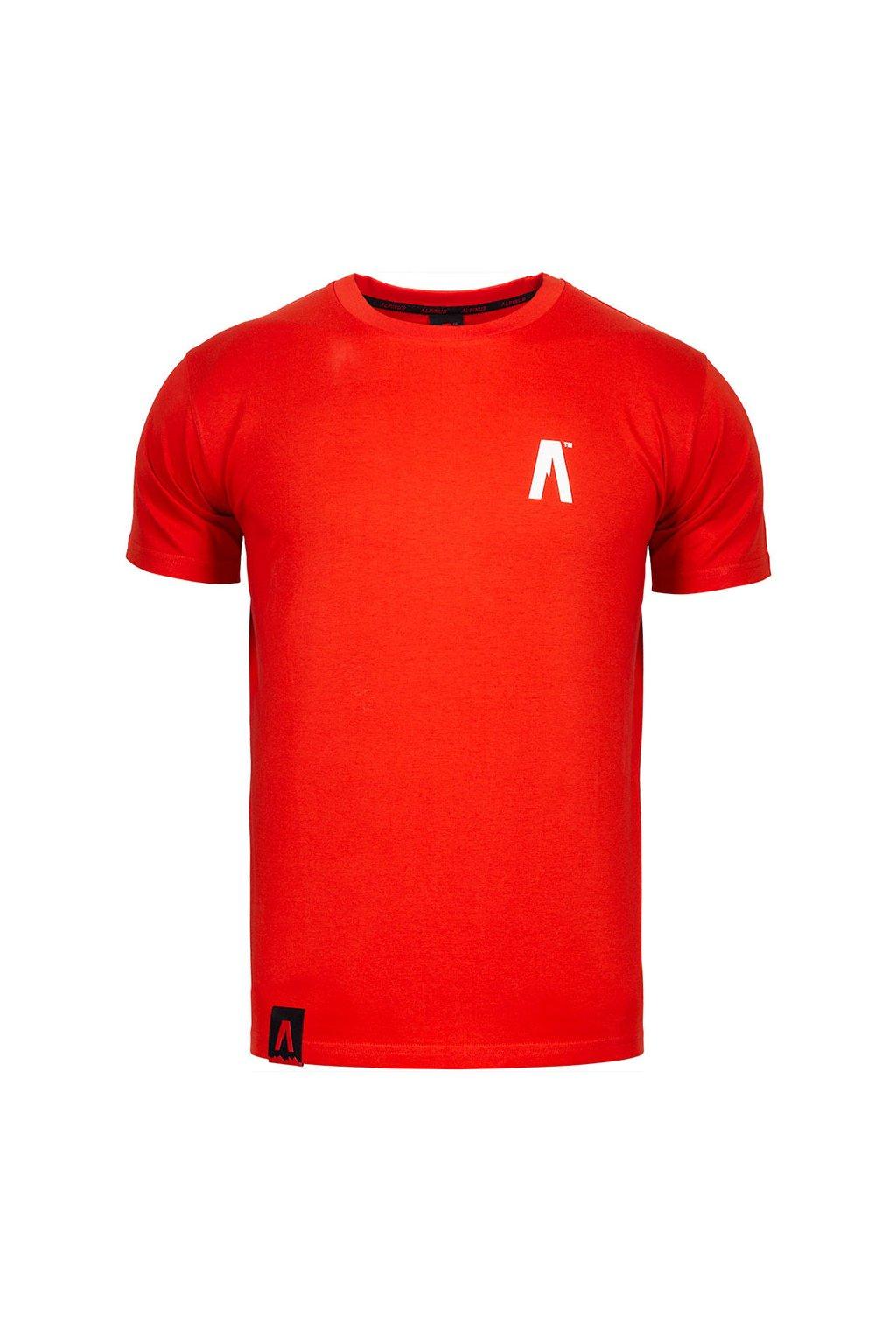 Pánske tričko Alpinus A' červené ALP20TC0002_ADD