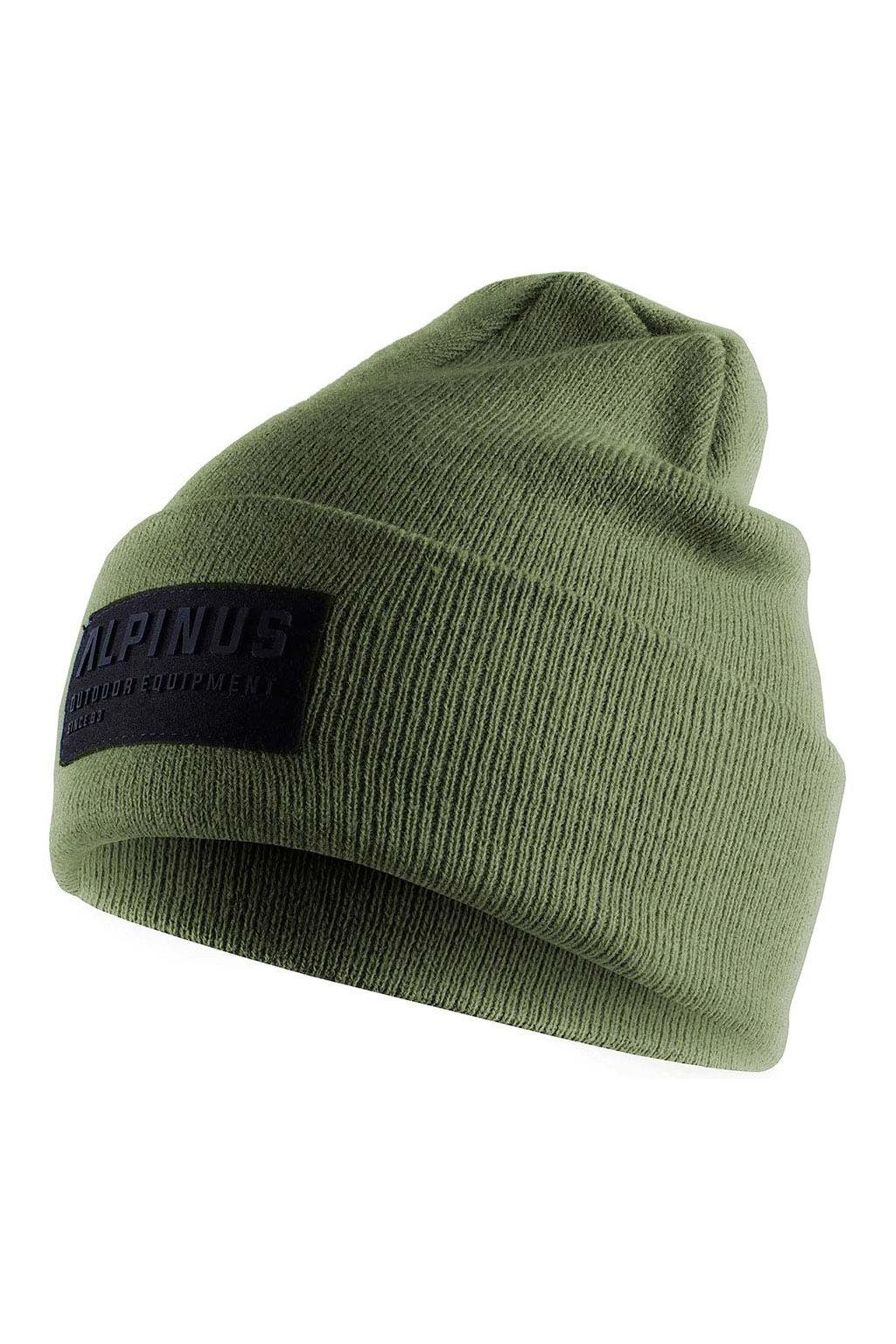 Čiapka Alpinus Oslo Cuffed Beanie zelená AWH006