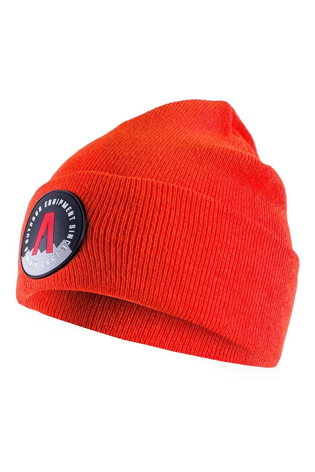 Čiapka Alpinus Helsinki Cuffed Beanie oranžová AWH007