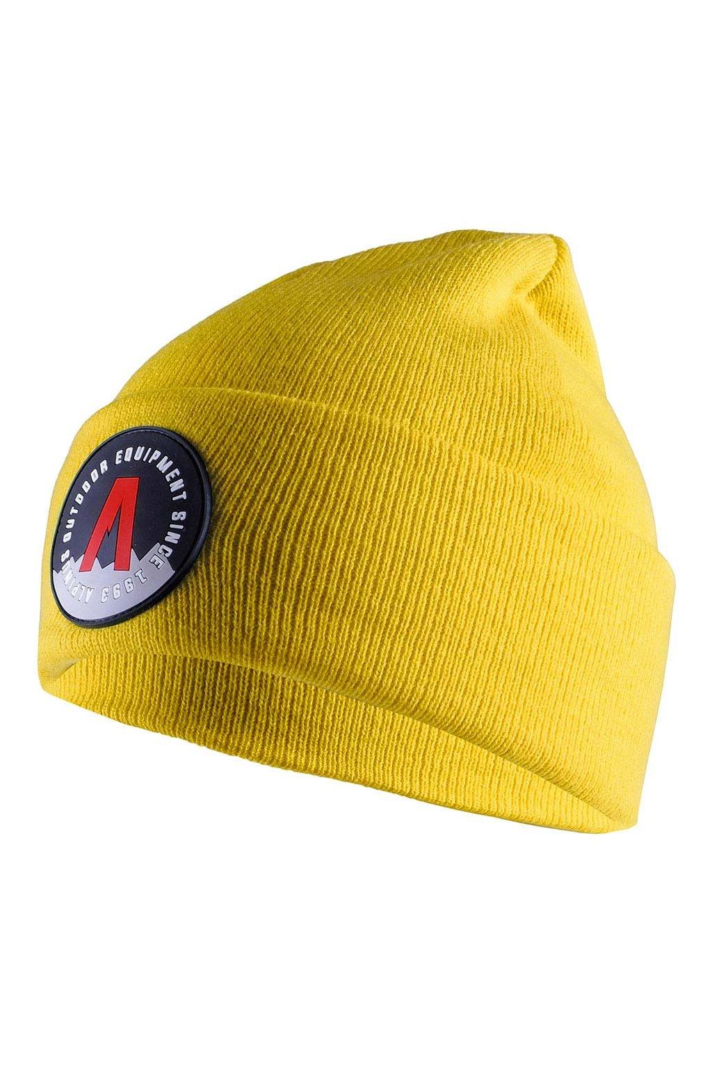 Čiapka Alpinus Helsinki Cuffed Beanie žltá AWH007