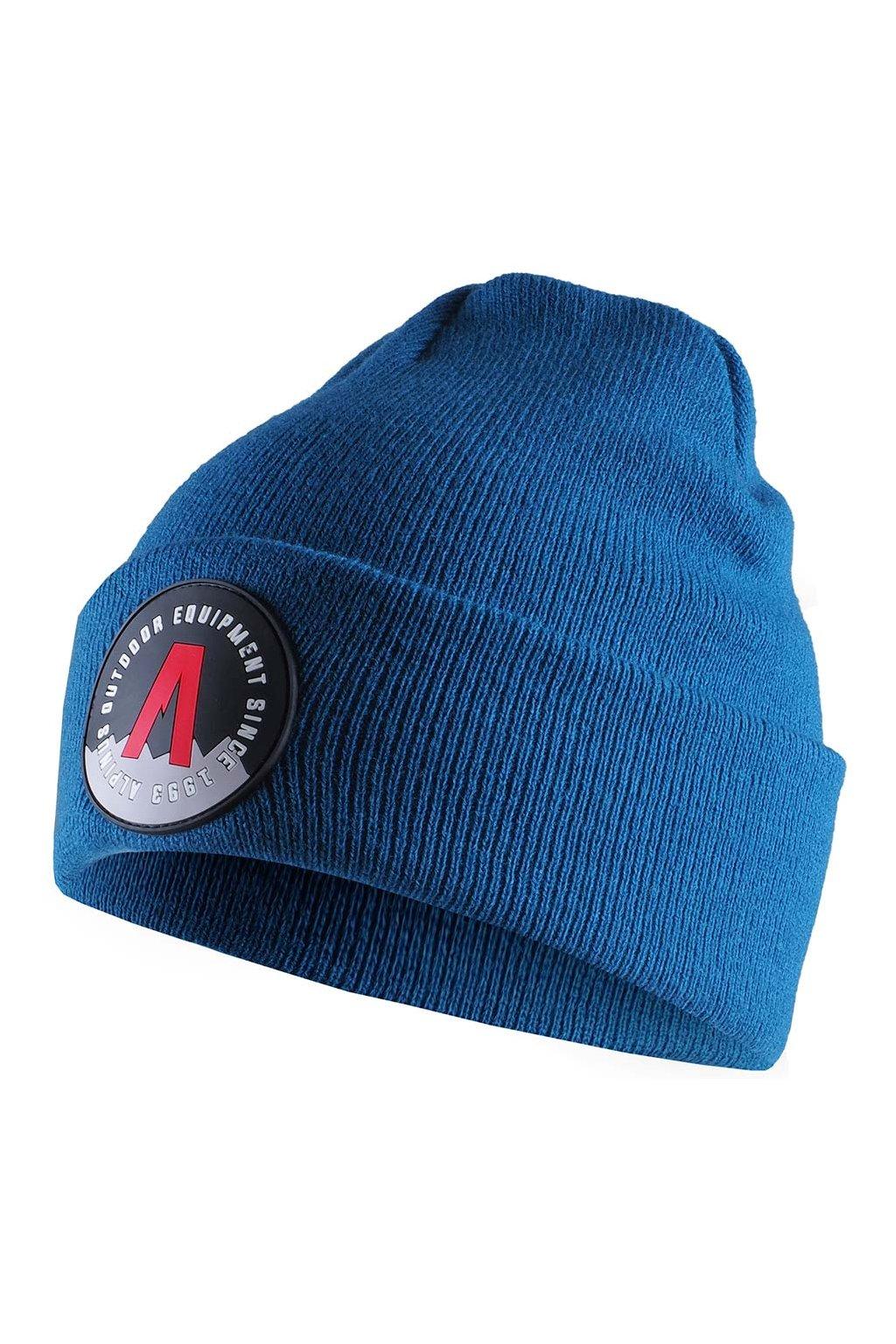 Čiapka Alpinus Helsinki Cuffed Beanie modrá AWH007