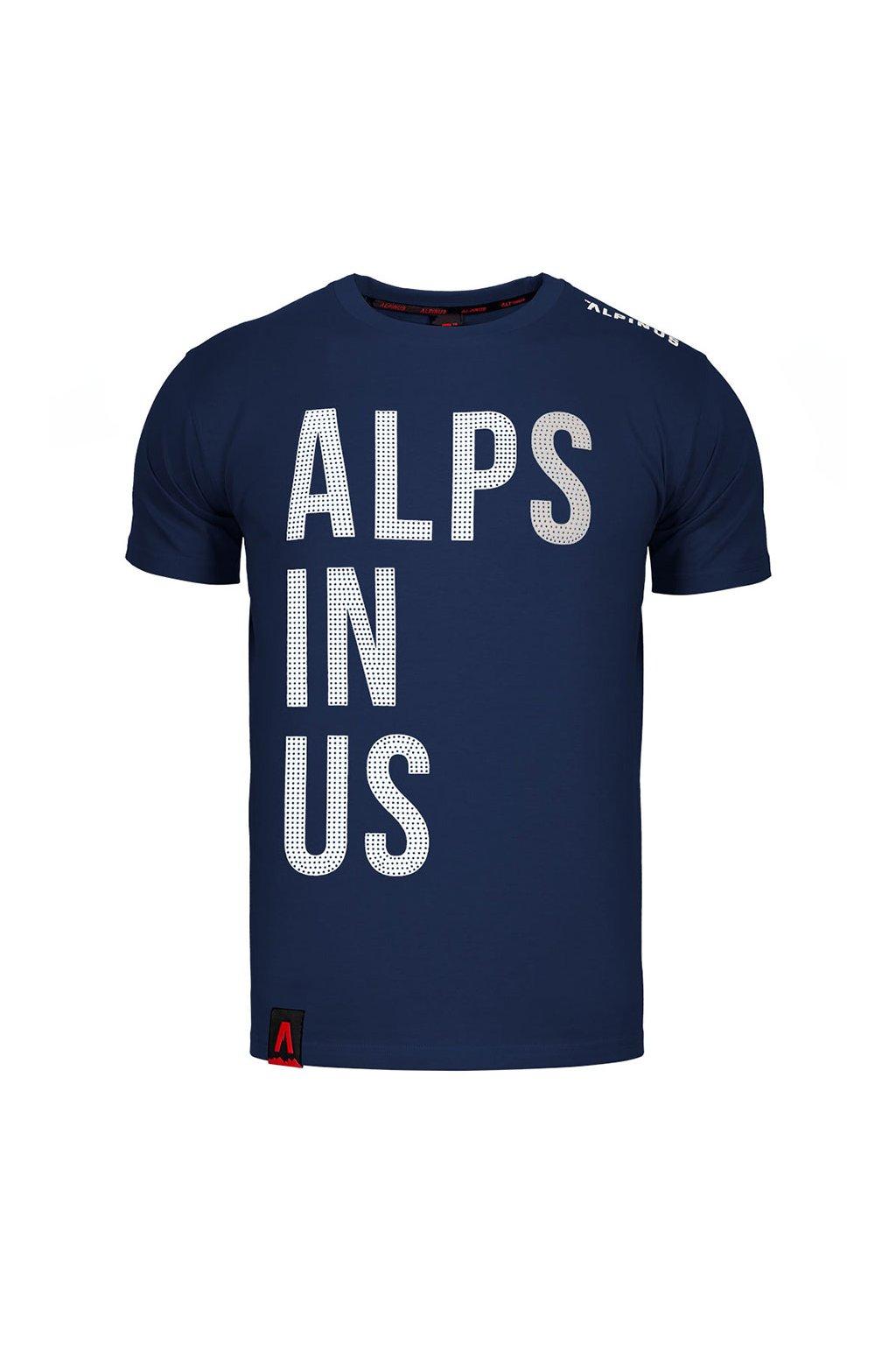 Pánske tričko Alpinus Alps In Us tmavo modré ALP20TC0015