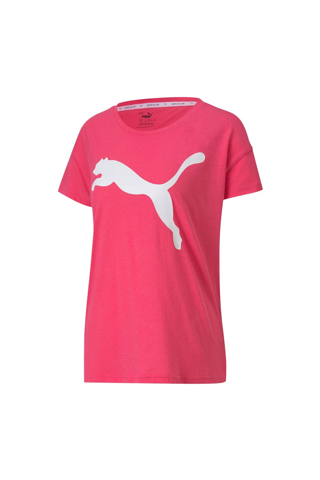 Dámske tričko Puma Active Logo Tee Glowing ružové 852006 76