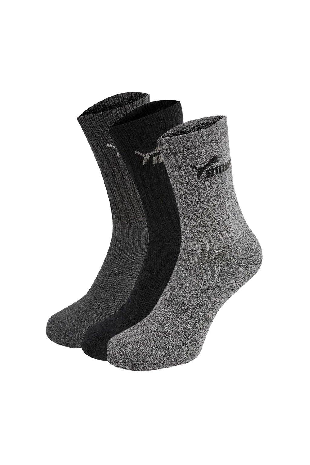 Ponožky Puma vysoké 3 páry 7308 207