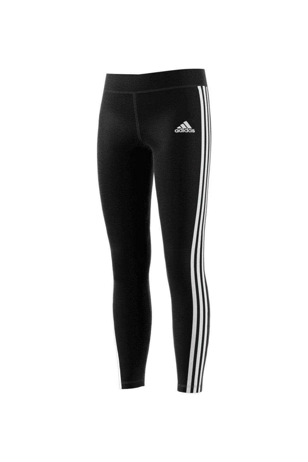 Dievčenské legíny Adidas 3-stripes Tight čierne BQ2907