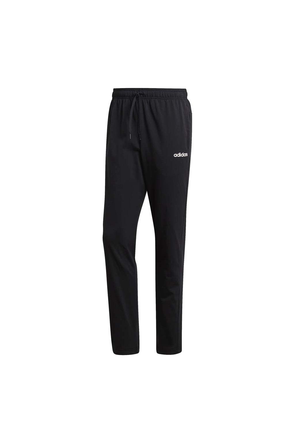 Pánske tepláky adidas Essentials Plain Tapered Pant SJ čierne DU0378