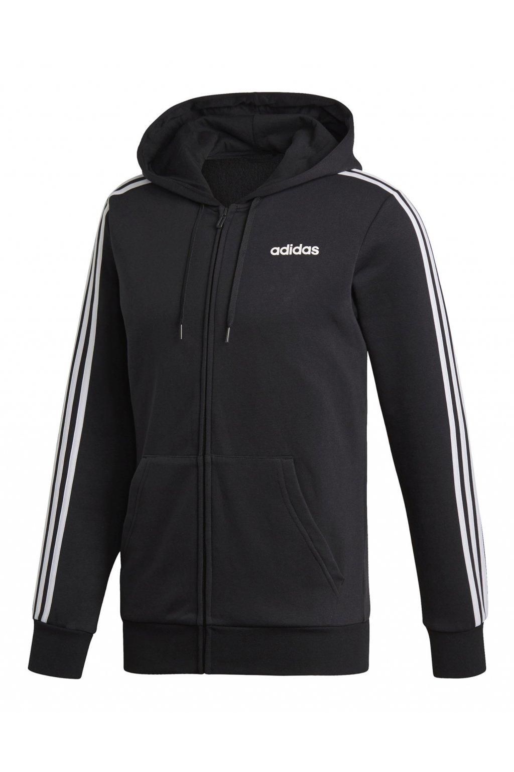 Pánska mikina adidas Essentials 3S čierna DQ3101