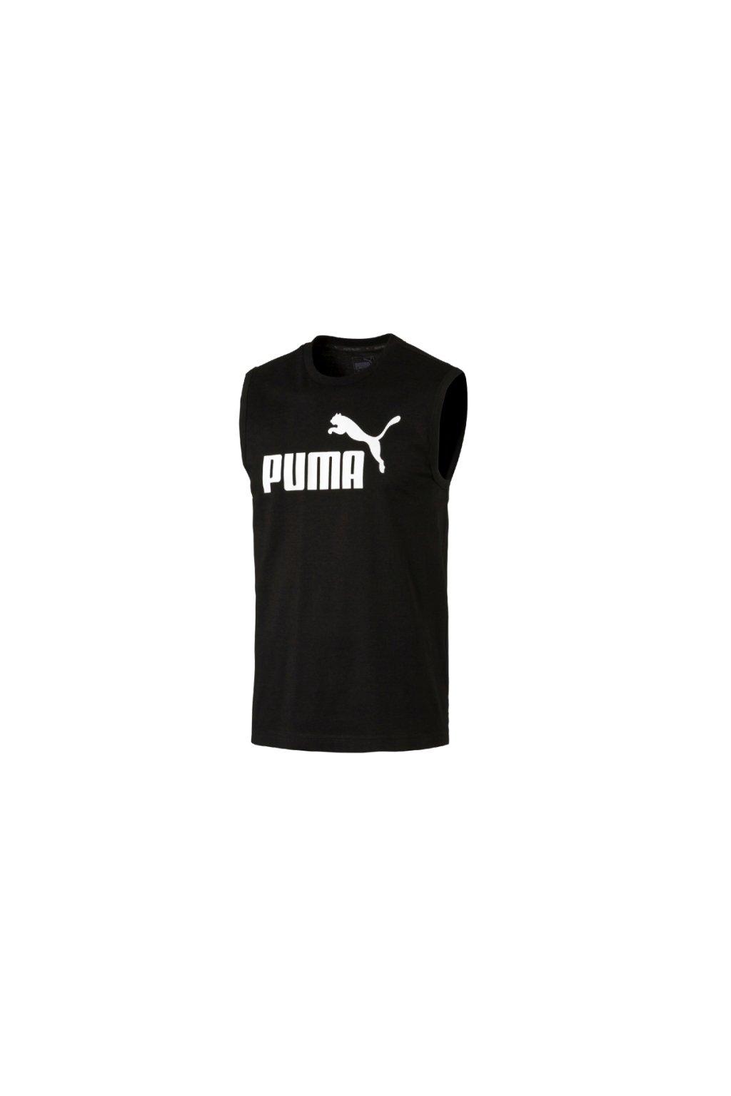 8489616ec1 PUMA pánske tričko bez rukávov - Fresh sport