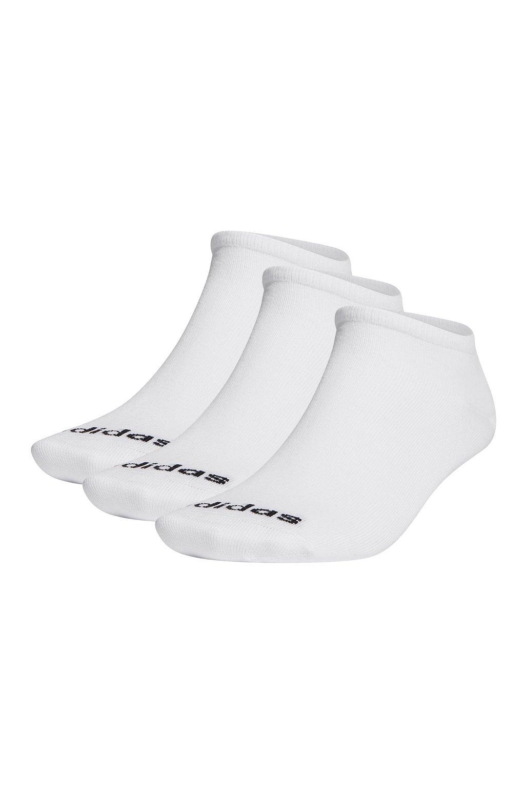 Ponožky adidas Low Cut 3PP biele GE1382