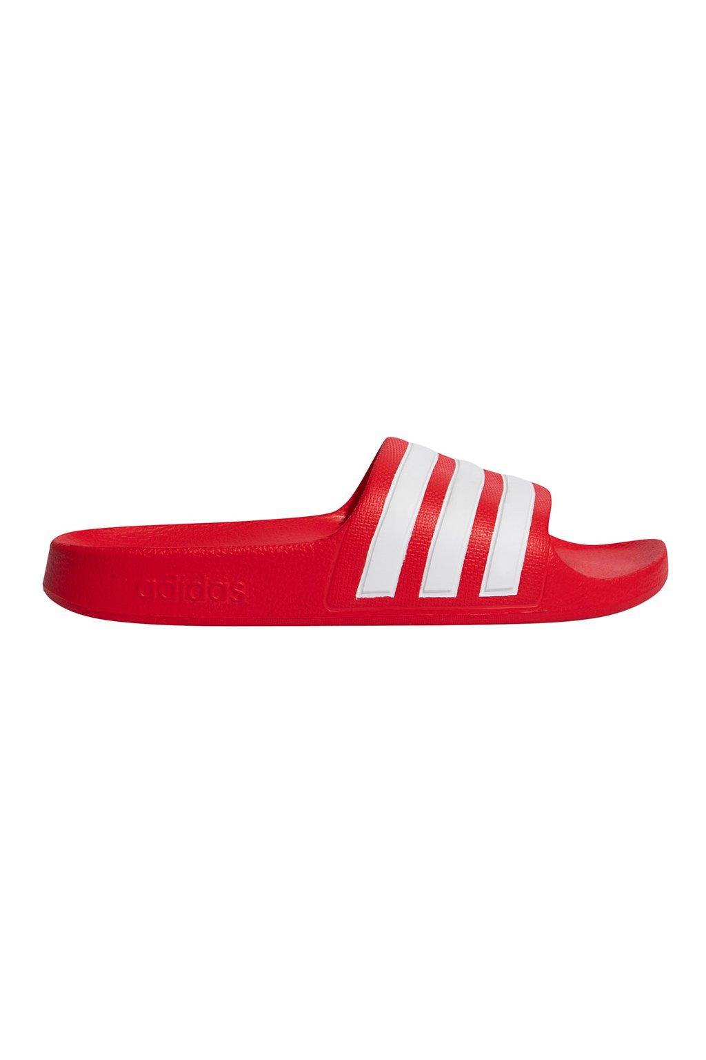 Detské šľapky adidas Adilette Aqua červené FY8066
