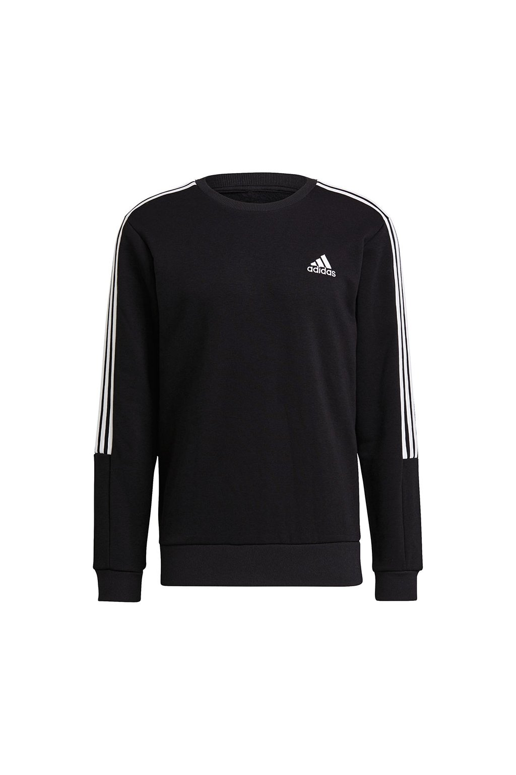 Pánska mikina adidas Essentials Sweatshirt čierna GK9579