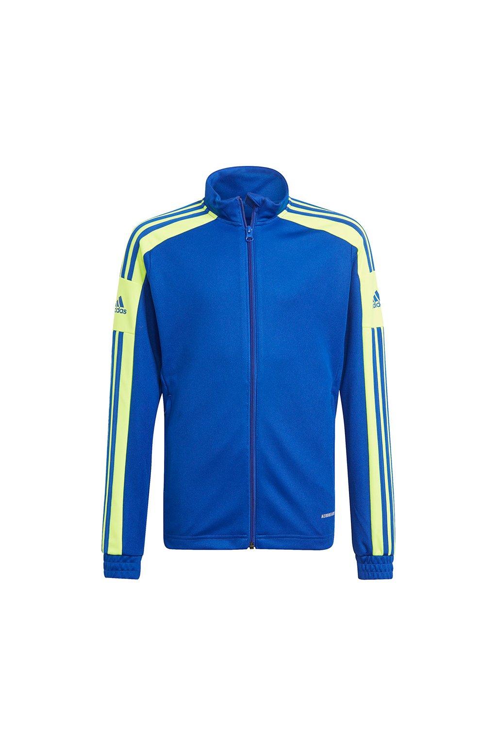 Detská mikina Adidas Squadra 21 Training Youth, modro-zelená GP6454