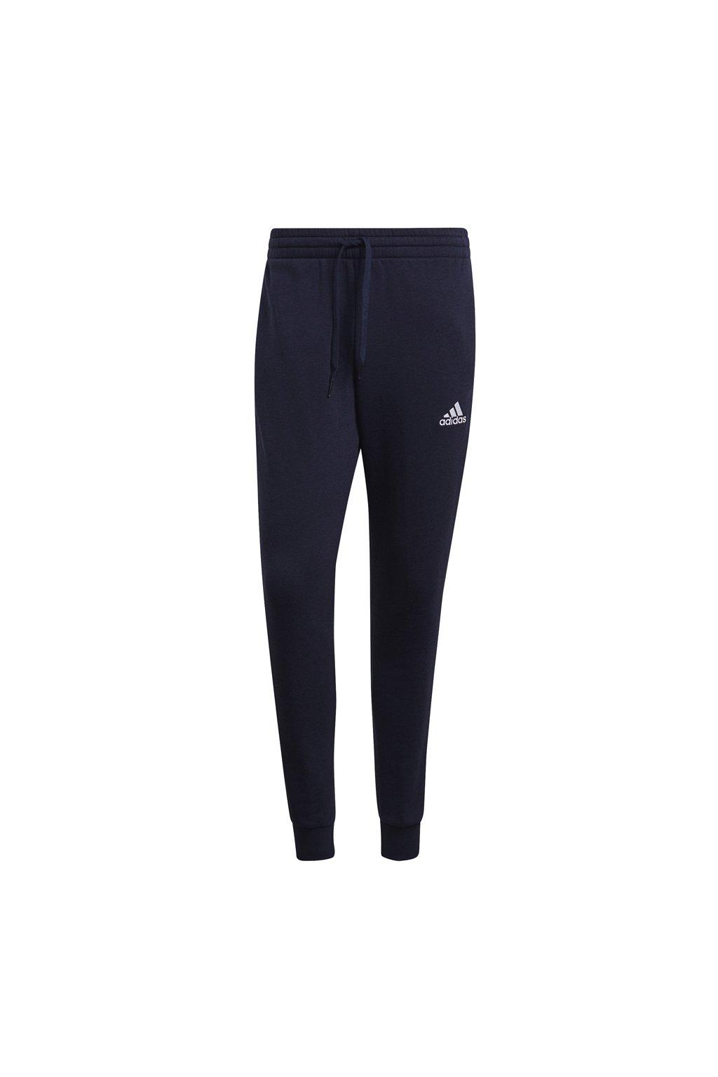 Pánske tepláky adidas Essentials Slim 3 Stripes Pants tmavo modré GM1090