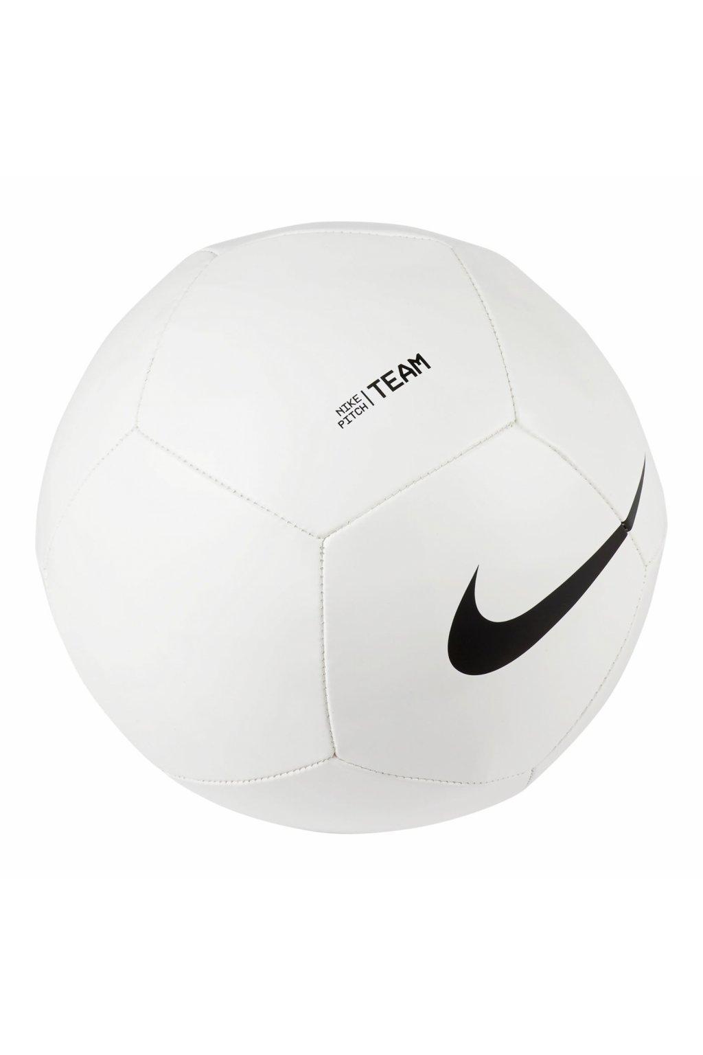 Futbalová lopta Nike Pitch Team biela DH9796-100