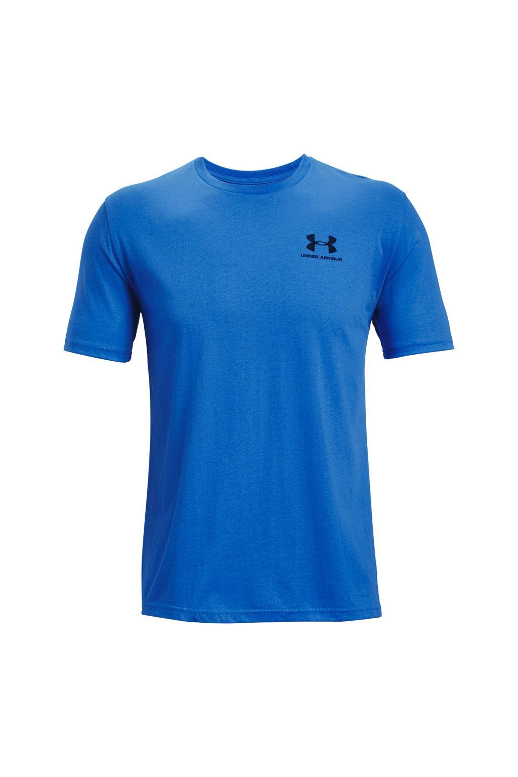 Pánske tričko Under Armour Sportstyle LC SS denim 1326799 787
