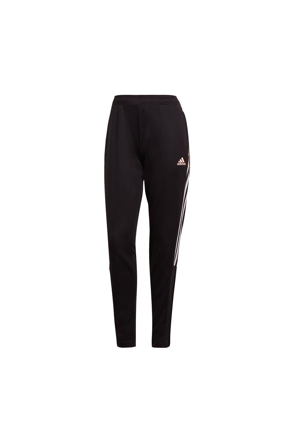 Dámske nohavice Adidas Tiro Trackpant čierno-ružové GQ1054