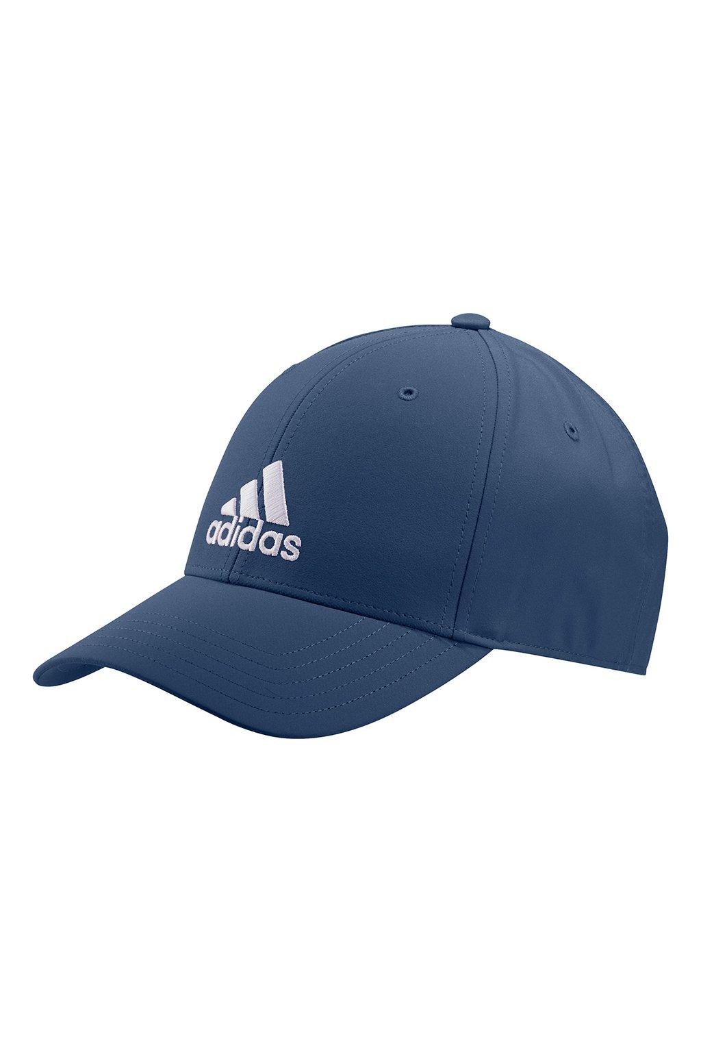Juniorská šiltovka adidas Baseball Lightweight Embroidered Logo OSFY tmavomodrá GM6262