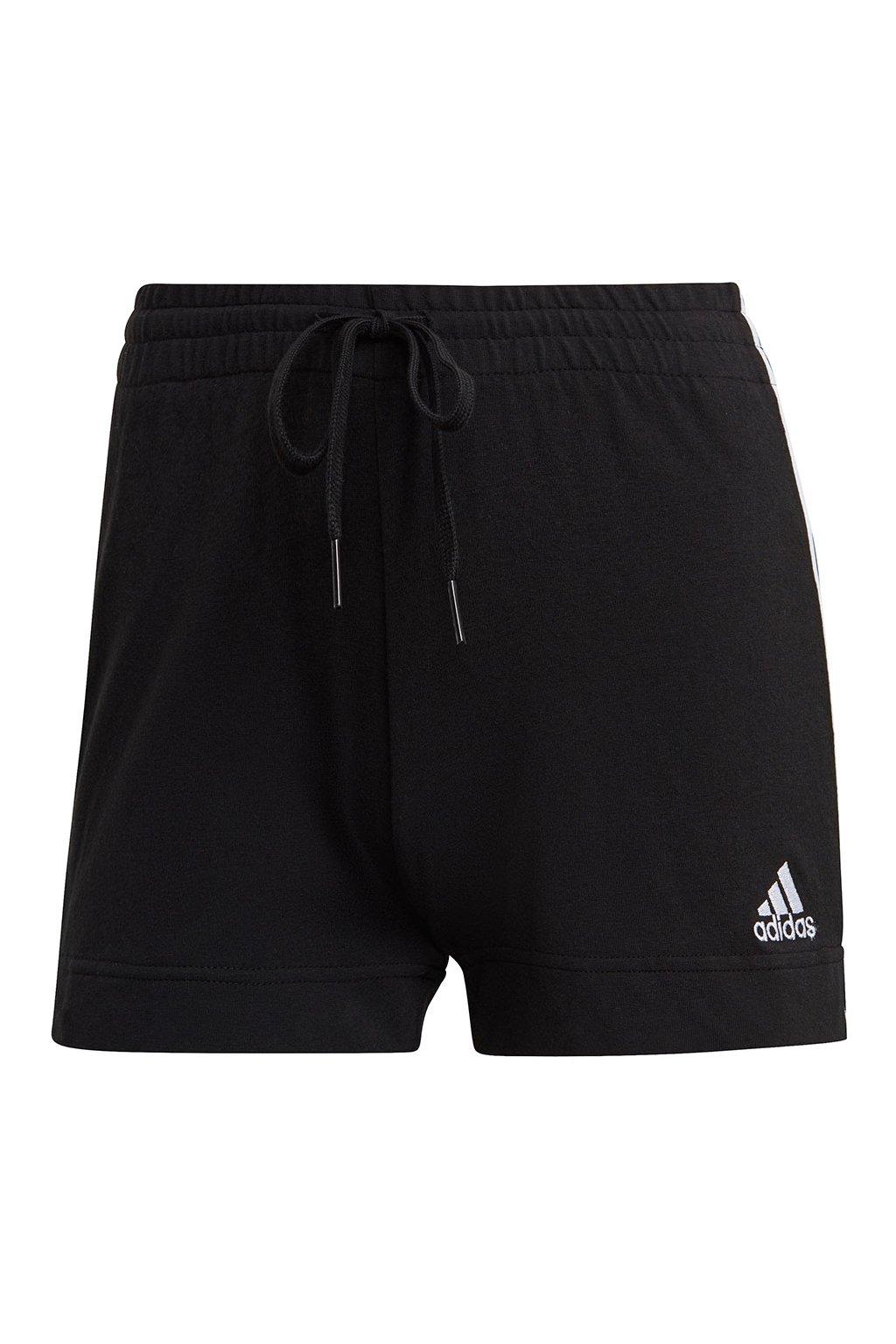 Dámske kraťasy Adidas Essentials Slim čierno-biele GM5523