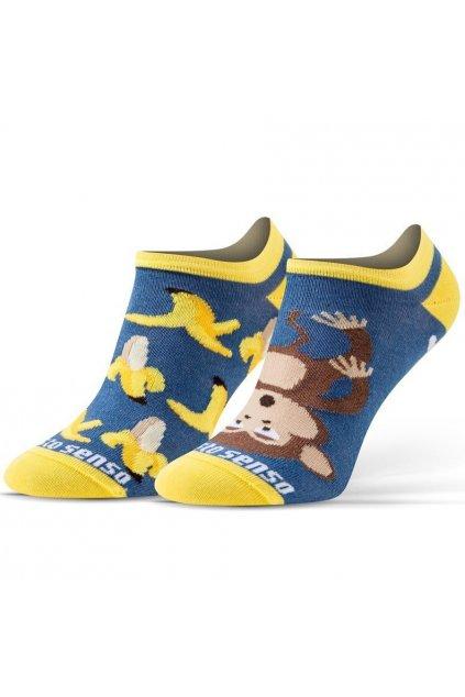 Veselé ponožky Sesto Senso banány / opice