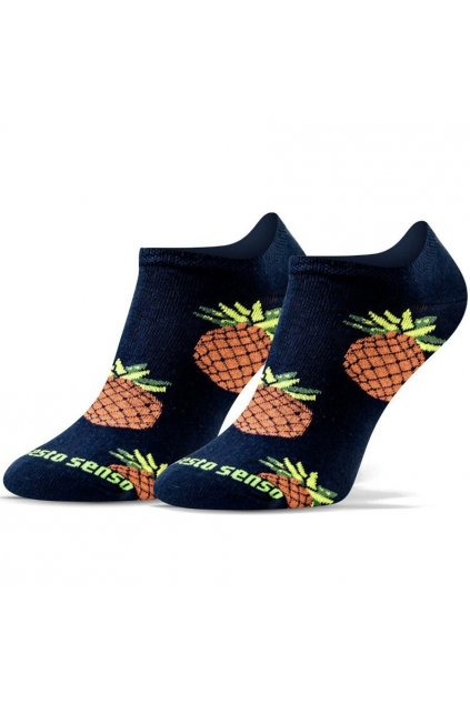 Veselé ponožky Sesto Senso ananás