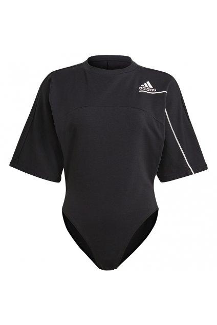 Dámske body adidas ZNE T Bodusuit čierne GL9555