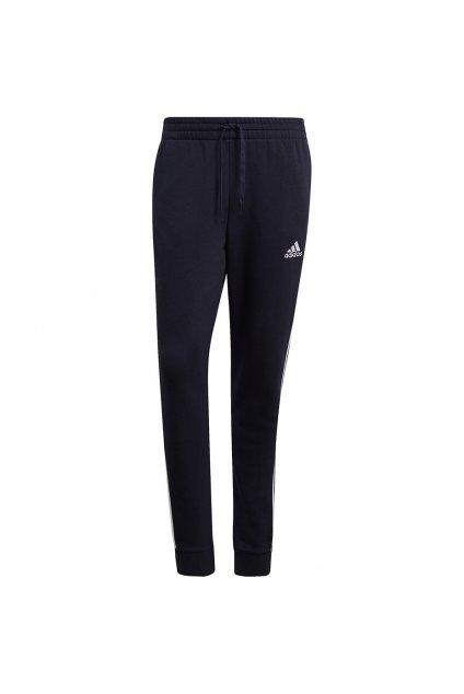 Pánske nohavice Adidas Essentials Fleece Tapered Cuff, tmavomodré GK8823