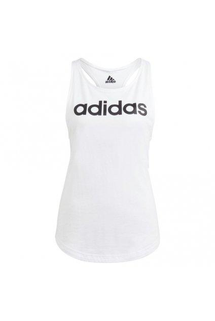 Dámske tielko Adidas Essentials Loose biele GL0567