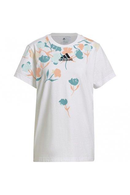 Dámske tričko adidas Graphic Tee biele GT8816