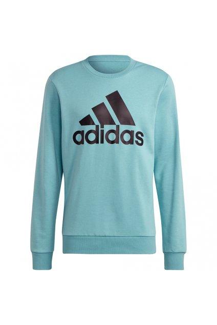 Pánska mikina adidas Essentials Big Logo Sweatshirt modrá H12163