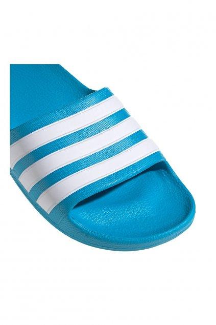 Detské šľapky adidas Adilette Aqua K tyrkysové FY8071