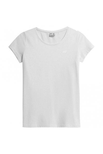 Dámske tričko 4F biele NOSH4 TSD350
