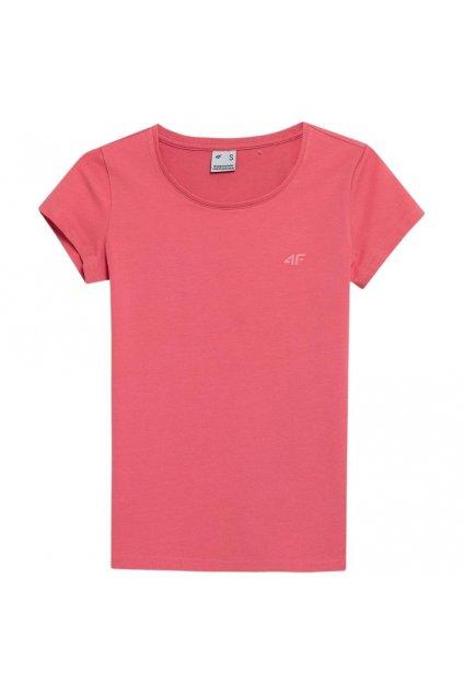 Dámske tričko 4F coral NOSH4 TSD350 63S