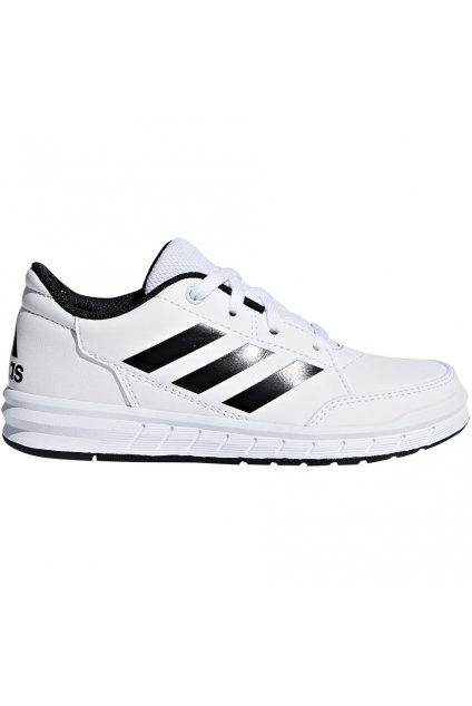 Detská obuv Adidas AltaSport K čiernobiela D96872