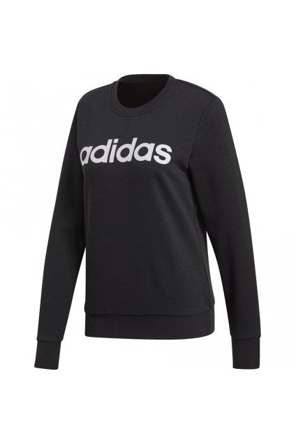 Dámska mikina Adidas W Essentials Linear Sweat čierna DP2363