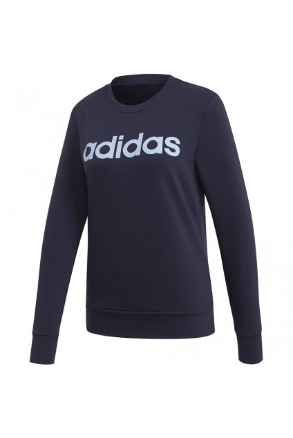 Dámska mikina Adidas W Essentials Linear Sweat navy blue EI0678