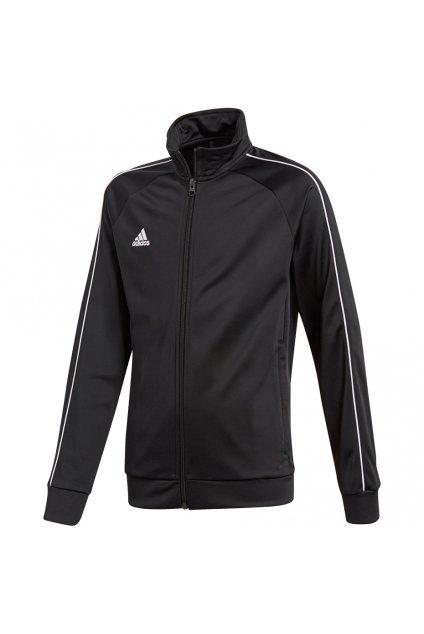 Detská mikina Adidas Core 18 Polyester Jacket JUNIOR čierna CE9052