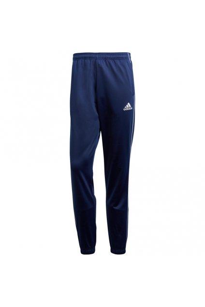 Pánske tepláky Adidas Core 18 Polyester tmavo modré CV3585