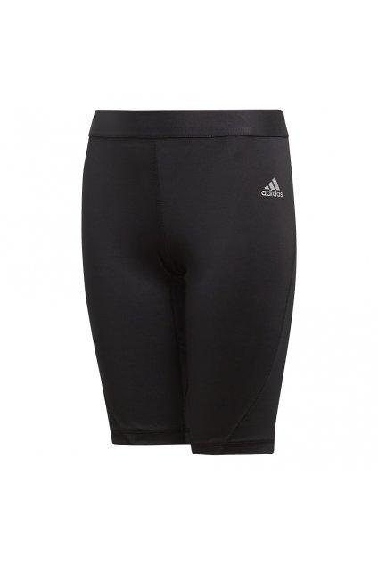 Detské kraťasy Adidas Alphaskin Sport Short Tight JUNIOR čierne CW7350