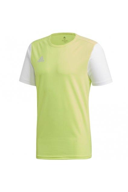 Detské tričko Adidas Estro 19 Jersey JUNIOR žlté DP3235