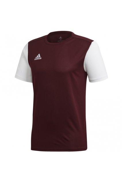 Detské tričko Adidas Estro 19 Jersey JUNIOR bordové DP3239