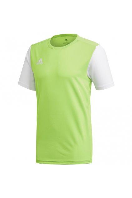 Detské tričko adidas Estro 19 Jersey JUNIOR limetka DP3240
