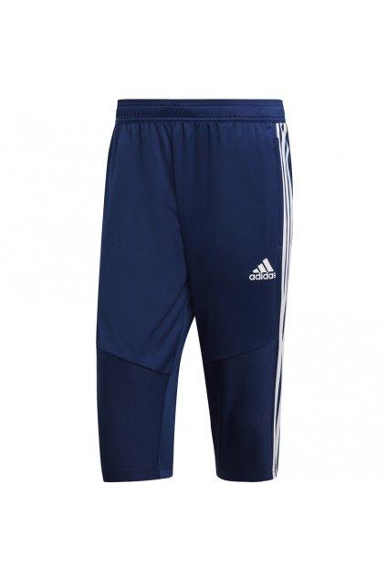 Adidas Tiro 19 pánske 3/4 nohavice tmavo modré DT5124