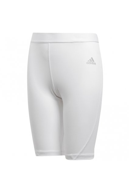 Detské kraťasy Adidas Alphaskin Short Tight white CW7351