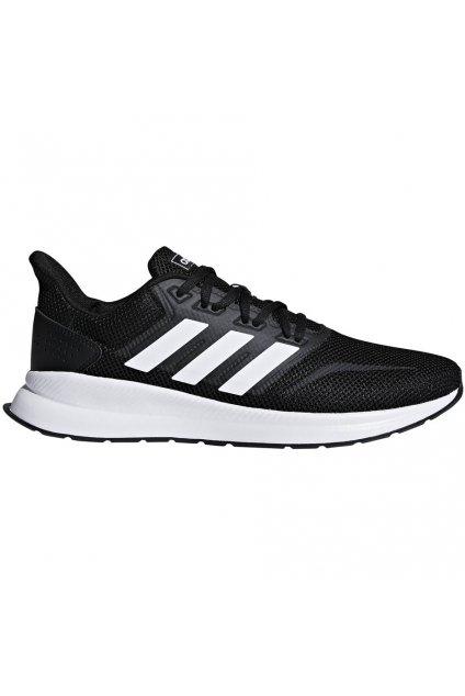 Pánske bežecké topánky Adidas Runfalcon čiernobiele F36199
